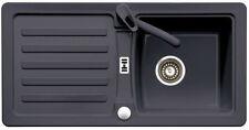 Eurodomo Spüle Einbauspüle Prima 45 Farbe Granit / Graphit Spühle Küchenspüle