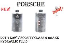Brake Hydraulic System DOT 4 Low Viscosity Class 6 Fluid For Porsche GENUINE