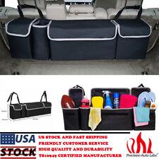 High Capacity Multi-use 600D Oxford Car Seat Back Organizer Interior Storage Bag