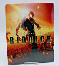 CHRONICLES OF RIDDICK - Glossy Bluray Steelbook Magnet Cover (NOT LENTICULAR)