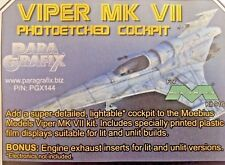 ParaGrafix 1/32nd Scale Cockpit Photo Etch Set for Viper Mk IV Item No. PGX144