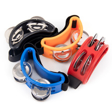 More details for foot tambourine percussion jingle shaker musical instrument bells