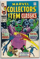 (1968) MARVEL COLLECTORS' ITEM CLASSICS #18 REPRINTS TALES OF SUSPENSE #58! FINE