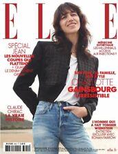 CHARLOTTE GAINSBOURG_RONAN FARROW_Fashion Beauty French ELLE MAG 2019 BRAND NEW