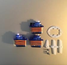 3 x 9g SG Servo Motor 90 Decigrams, Ø5mm Tower, Light Pro & Hobby FSEN