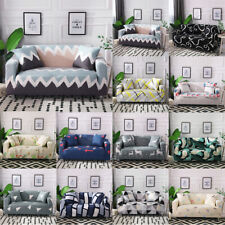 1/2/3/4 Seater Stretch Modern Couch Sofa Cover Slipcover Elastic Case Protector