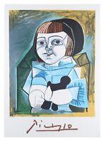 """Paloma un Bleu"" by Pablo Picasso Lithograph Limited Edition of 1000 w/ CoA"