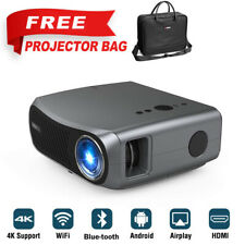 New listing Native 1080P Led Home Theater Projector Movie Party Meeting Bundle Projector Bag