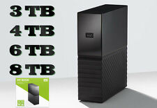 HARD DISK ESTERNO WESTERN DIGITAL MY BOOK 3TB 4TB 6TB 8TB