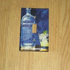 ABSOLUT BERRI ACAI Bottle LIGHT SWITCH COVER PLATE