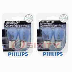 2 pc Philips Rear Turn Signal Light Bulbs for Sunbeam Arrow 1967-1970 dm