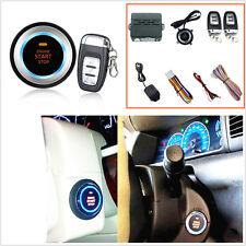 Car Alarm System Security Vibration Alarm Engine Start Push Button Remote Start
