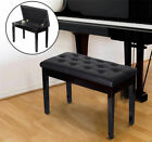 HOMCOM Classic Piano Bench Padded Seat Stool Solid Wood Wooden <br/> 1 - 2 Day Delivery ✔ High-Quality ✔30-Day Returns ✔