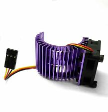 540 550 560 RC EP Dissipatore di calore motore elettrico con ventola 6v Viola 1/10 scala lato