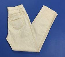 Roccobarocco jeans vintage mom hot W28 tg 42 affusolato carota usato beige T2640