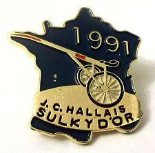 Pin Spilla Francia J.C. Hallais Sulky D'Or 1991 Corse Cavalli