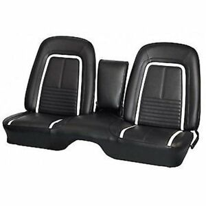 1967 Camaro Coupe Deluxe Front & Rear Bench Deluxe Seat Upholstery