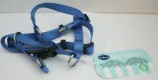 Blueberry Pet Classic Solid Step-in Dog Harness - Marina Blue Small