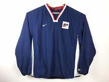 Vintage Nike USA Hockey Shell Pullover Windbreaker Jacket Sweater Sweatshirt XXL