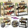 3 Tier Kitchen Spice Rack Storage Organizer Seasoning Bottle Stand Shelf Holder