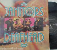 JANITORS - Deafhead ~ VINYL LP