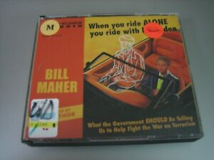When You Ride Alone You Ride with Bin Laden by Bill Maher (2005, CD, Abridged)