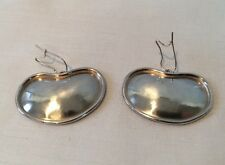 Sterling Silver SW Earrings Old Store Stock 12.4 Grams Signed Stunning!