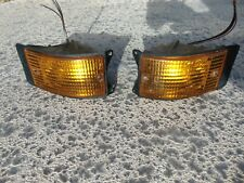 83-89 Porsche 924 944S Front Lower Turn Signal Marker Lights LH & RH Both Tested