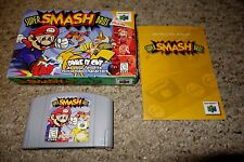Super Smash Bros. (Nintendo 64 n64, 1999) Complete in Box GREAT