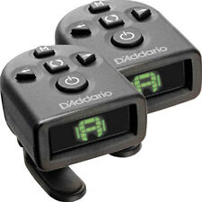 Planet Waves NS Micro Headstock Tuner - TWO PACK Guitar Bass Ukulele PW-CT-12TP