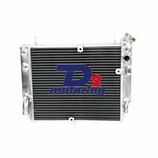 2ROW Aluminum Motorcycle Radiator FOR 2002-2003 Yamaha YZF R1 40mm