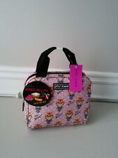 Betsey Johnson Insulated Cat Prints Lunch Tote