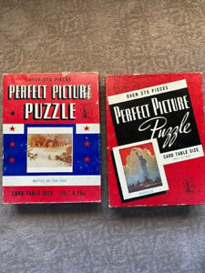 (2) Perfect Picture WWII Puzzles
