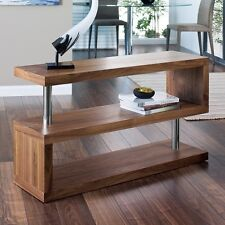 Modern Designer Square Walnut Shelving/Storage Unit#Brand New#