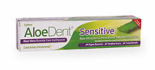 Aloe Dent Flouride-free Toothpaste for Sensitive Teeth 100ml from Optima®