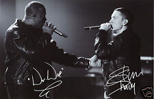 EMINEM & DR DRE AUTOGRAPH SIGNED PP PHOTO POSTER