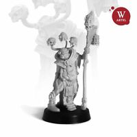 28mm wargaming and collectible miniature, Preacher Ignacius Fahrnswort