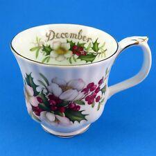 Royal Albert Flower of the Month December Christmas Rose Mug