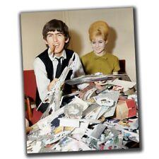 George Harrison FINE ART Celebrities Vintage Photo Glossy Big Size 8X10in M030