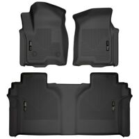 Husky Liners 94021 WeatherBeater Front/2nd Seat Floor Liner For Silverado 1500