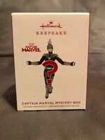 UNOPENED SEALED Hallmark 2019 Captain Marvel Mystery Ornament - Red Or Blue New