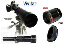 VIVITAR 650-2600mm Telephoto Lens for NIKON D5300 D5200 D3300 D3200 D7000 Df D90