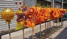 CHINESE New Year DRAGON DANCE 7.9m Folk Festival Costume 8 children stage prop