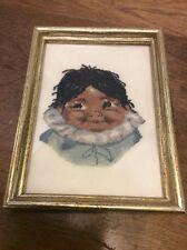 Vintage Jean McIntosh Needlepoint Kit Aloota Complete Framed
