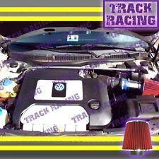 99-06 VOLKSWAGEN BEETLE GOLF JETTA GTI AUDI TT 1.8 1.9L 2.0L AIR INTAKE Blue Red