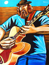 JAMEY JOHNSON PAINTING epiphone EJ-200 guitar song cd