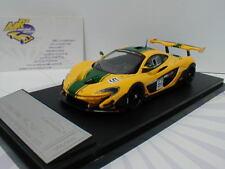 Almost Real 440102 - McLaren P1 GTR No. 51 Geneva Intern. Show 2015 gelb 1:43