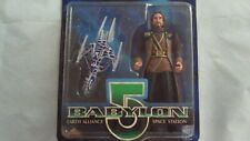 BABYLON 5 Marcus Cole With White Star ACTION FIGURE SEALED 1997 Preview Exclusiv