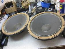 2 original original  AMPEX JBL 150-4 32 ohms woofer for 5070 speaker systems