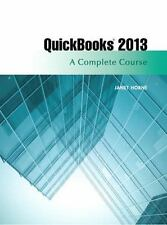 QuickBooks 2013: A Complete Course (14th Edition), Horne, Janet, Good Book